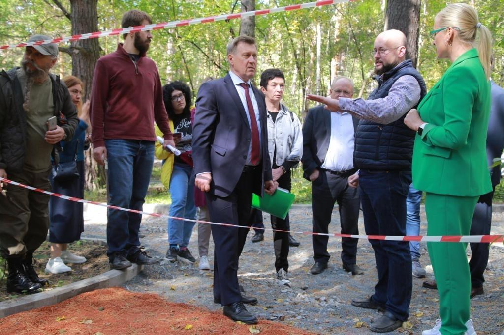 Реконструкцию Заельцовского парка в Новосибирске завершат раньше намеченного срока - Фотография
