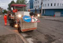Работа коммунальной службы и дорожный ремонт Новосибирск