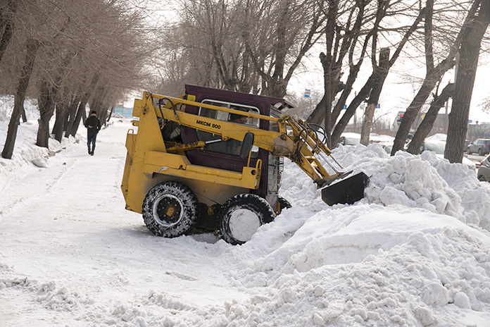 Уборка снега Новосибирск