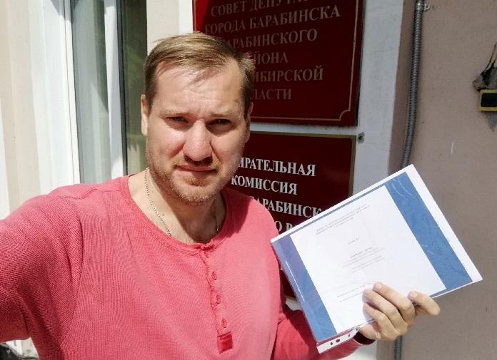 Константин Терещенко победил на выборах депутатов горсовета Барабинска