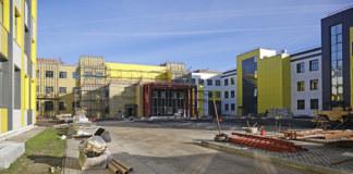 Новое здание гимназии сможет вместить всех учащихся в одну смену