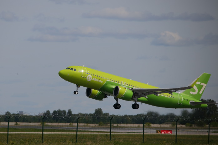 S7 Airlines самолёт авиакомпания небо