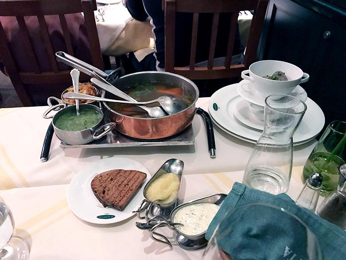 Тафельшпиц - комплексное блюдо венской кухни