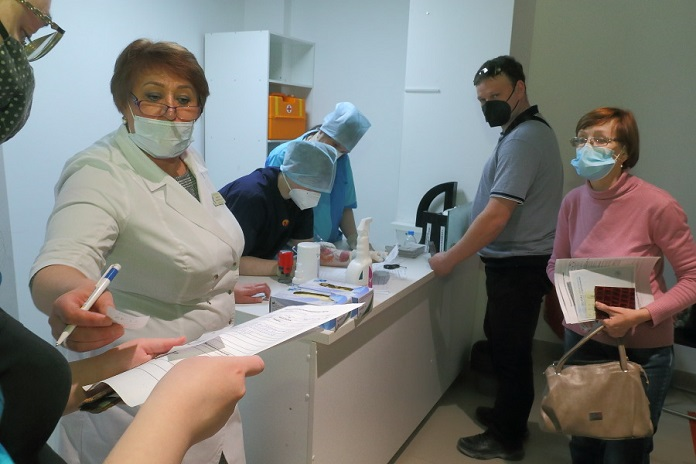 рекорд заболеваемости коронавирусом в Новосибирской области
