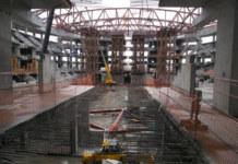 Строительство нового ЛДС в Новосибирске