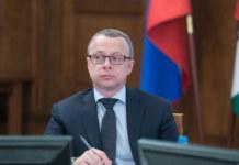 Первый заместитель губернатора Новосибирской области Юрий Петухов