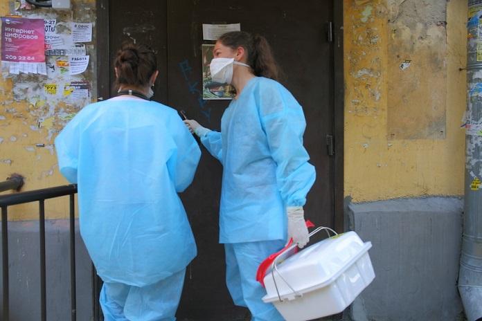 Заболеваемость коронавирусом в Новосибирской области