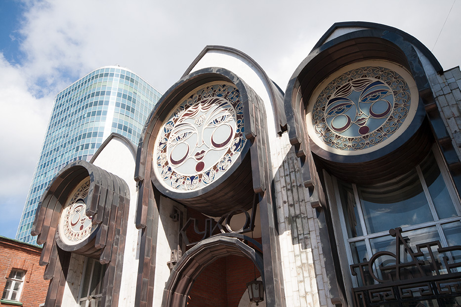 Ремонт театра кукол в Новосибирске