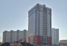 В Новосибирске возобновилось строительство дома по ул. Зорге, 279/4