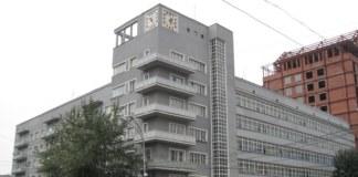 """""""Дом с часами"""" в Новосибирске"""