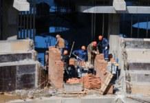 Строительство новой ледовой арены в Новосибирске