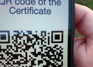 QR-код сертификат